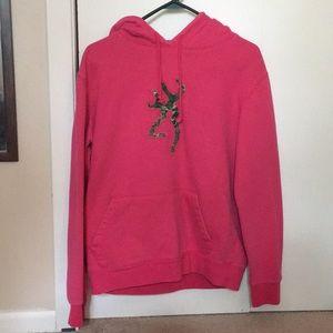 Browning hooded camo sweatshirt